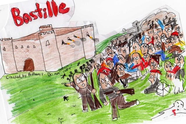 Bastille attacked!