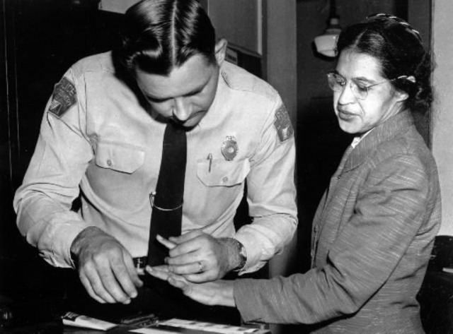 Rosa Parks is Arrested