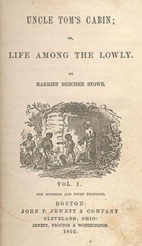 Uncle Tom's Cabin by Harriet Beecher Stowe