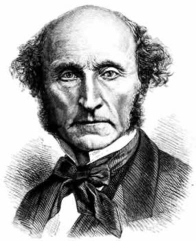"""John Stuart Mill publica """"principios de economía política"""""""