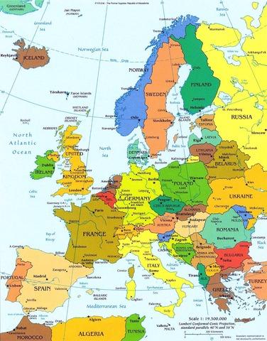 La Colonizacion de Europa
