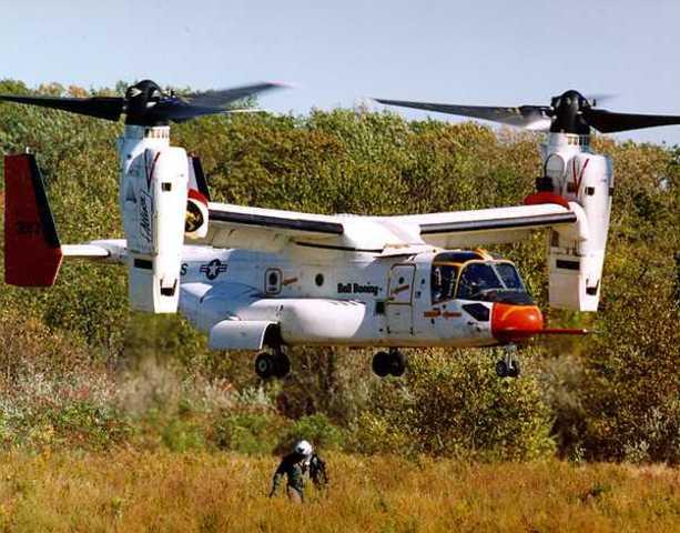 V-22 - Beispiel eines V/STOL fähigen Flugzeuges