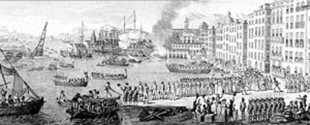 Internal French battle