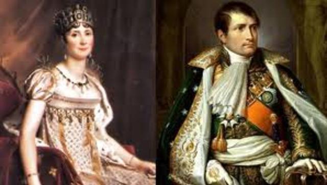 At the home of Paul François Barras, a Directory member, Napoleon meets Rose de Beauharnais (Josephine)