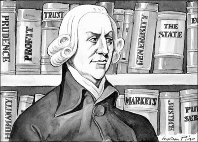 Se publica la riqueza de las naciones de Adam Smith.