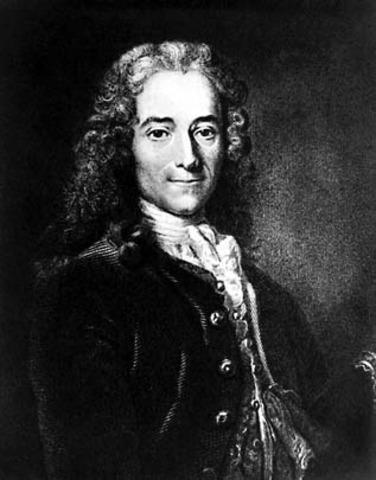 Francois-Marie Arouet; Voltaire