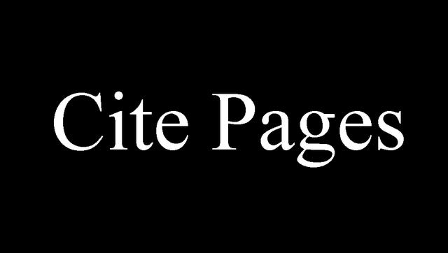 Cite Pages 1970