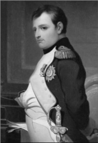 El poder de Francia queda en manos de Napoleón Bonaparte. Termina la revolución francesa.