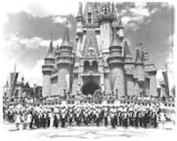 Walt Disney World Resort Opens