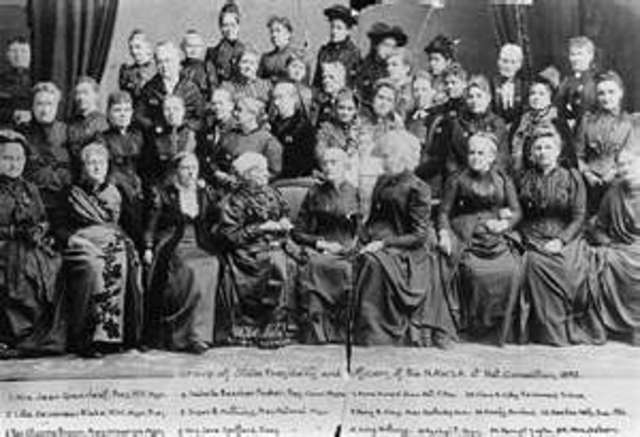 National American Woman Suffrage Association Formed