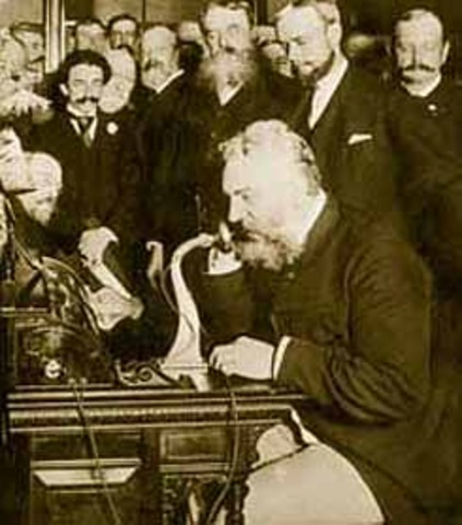 First Telephone Use