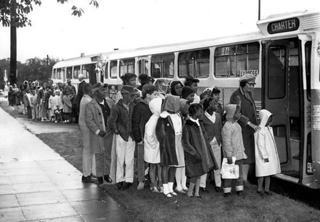 Laws of Desegregation on Busses