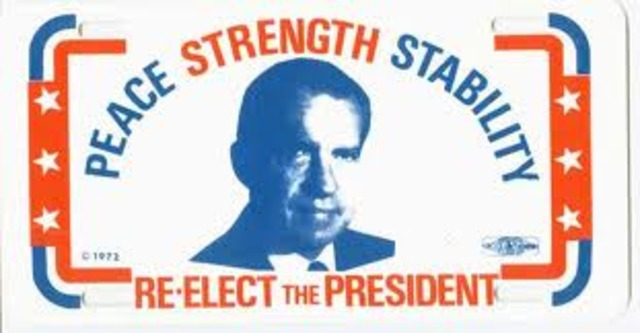 Richard Nixon Re-elected