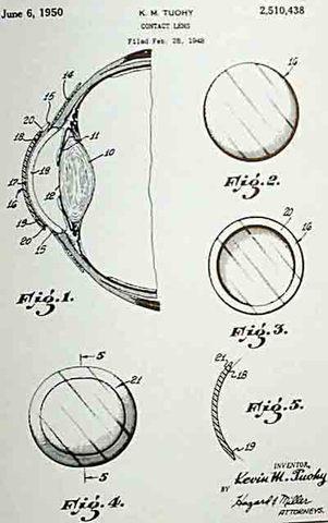 Plastic Contact Lenses