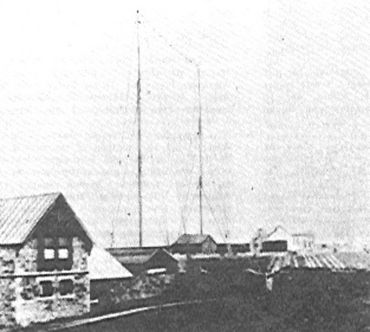 First Transatlantic Radio Transmission
