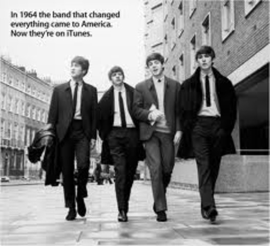 The Beatles Become A Huge Hit
