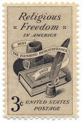 Rhode Island Grants Religious Freedom