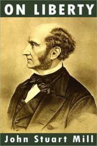 """John Stuart Mill publishes the essay """"On Liberty"""""""