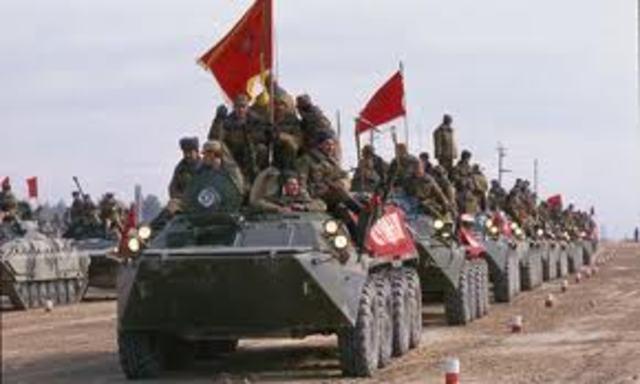 Russians Enter Afghan