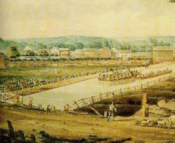 Creation of Erie Canal