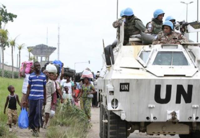U.N cuts their forces