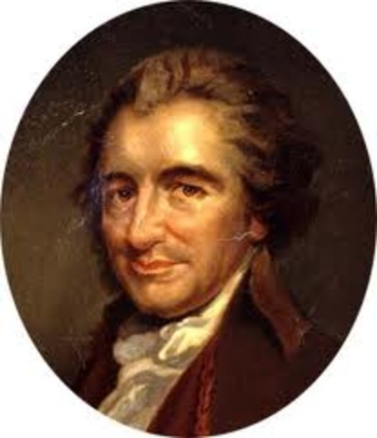 Thomas Paine escribe Los Derechos del Hombre