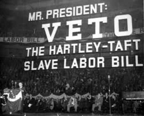 Taft- Hartley Act