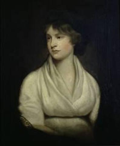 Mary Wollstonecraft publica Vindicación de los derechos de la Mujer