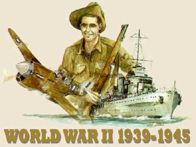 World war #2 began
