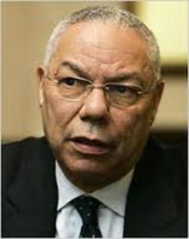 Colin Powell Becomes U.S. Secretary of State