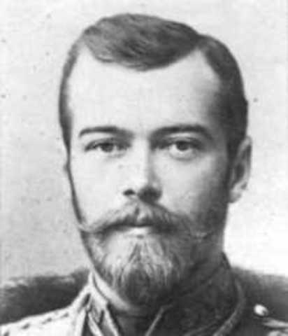 Estallido de la revolución bolchevique en Rusia