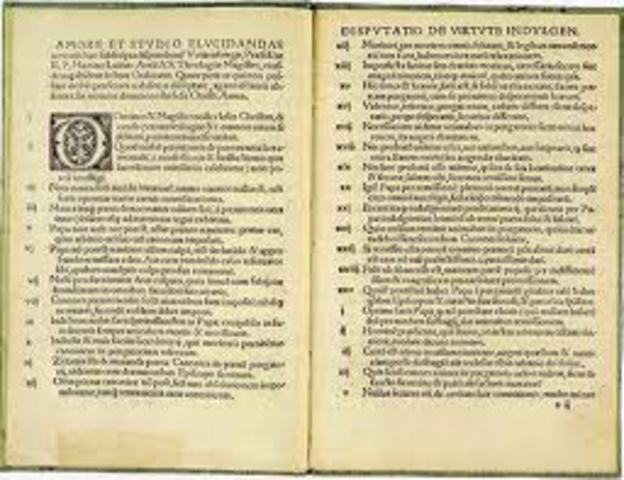 luther wrote his bishop