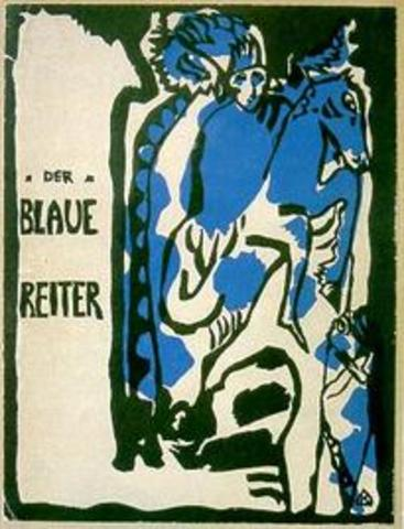 gegründet Der Blaue Reiter/ Founded the blue rider journal