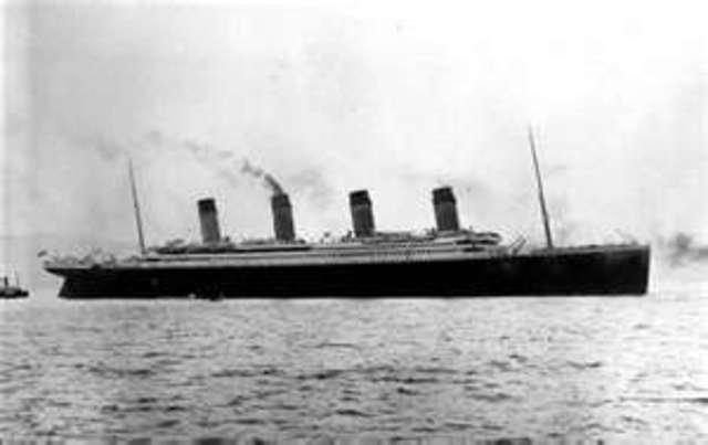 titanic going to New York