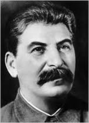 Stalin coming to power in Russia