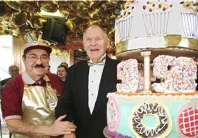 Dunkin' Donuts 50th Anniversary