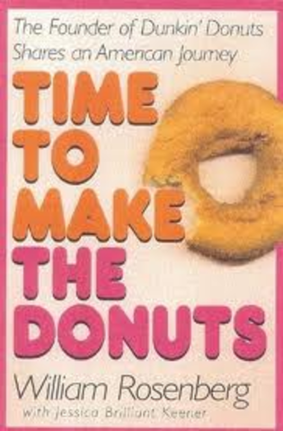 """Wrote biography """"Time to Make the Donuts"""""""