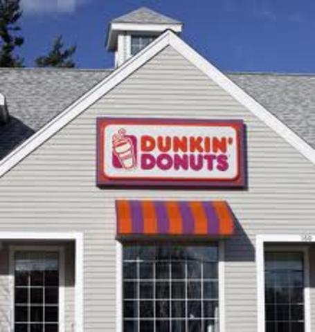 1000 Dunkin' Donuts shops