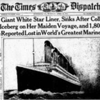 Titanic/Morgan timeline