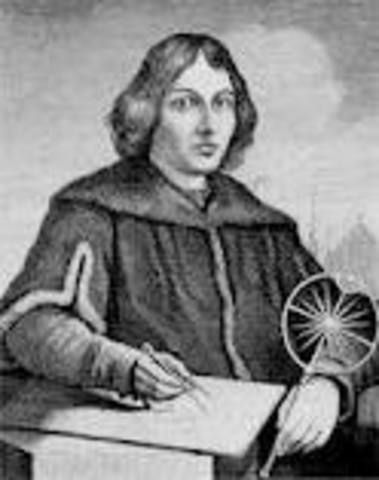 Copernicus published first book