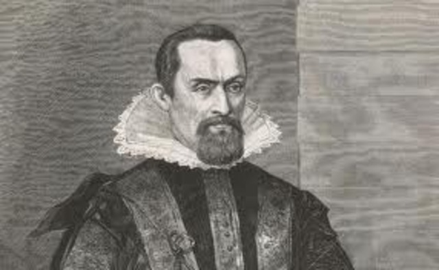 Kepler published two laws of motion.