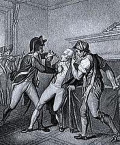 Chute de Robespierre