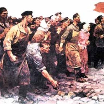 La Revolución Rusa timeline