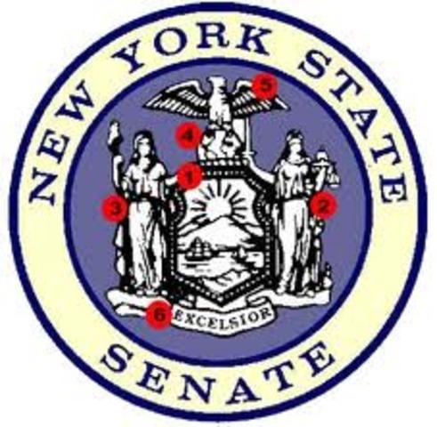 Elected for New York Senator