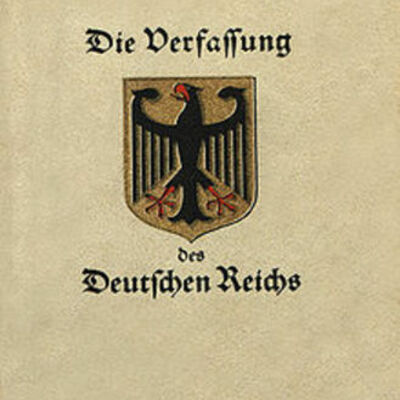 LA DECLARACION DE WEIMAR (ALEMANIA 1919) timeline