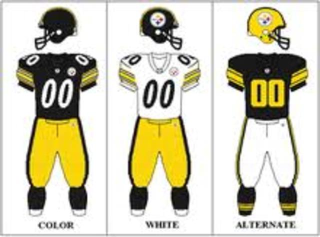 Steelers Uniform