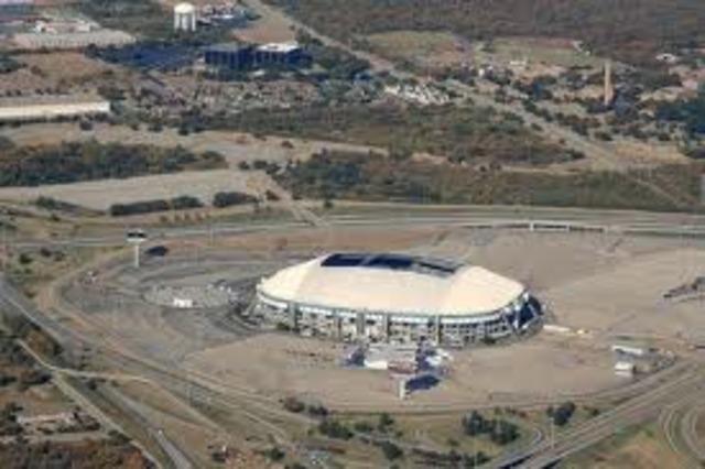 Dalllas Cowboys first stadium built