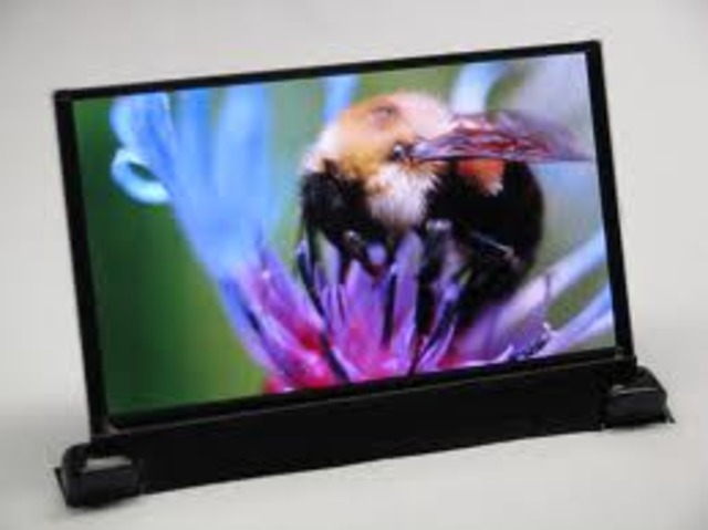 First OLED television
