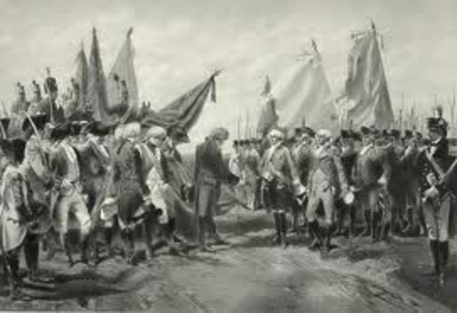 Cornwallis' surrender