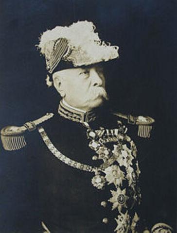 Porfirio Diaz becomes Dictator of Mexico